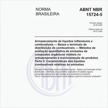 NBR15724-5 de 06/2009