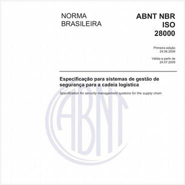 NBRISO28000 de 06/2009