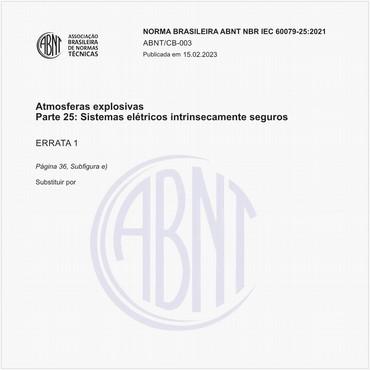 NBRIEC60079-25 de 12/2011