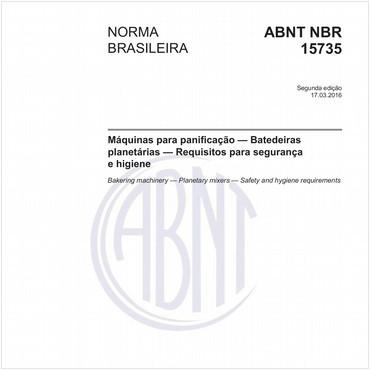 NBR15735 de 03/2016