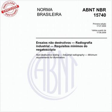 NBR15740 de 07/2009
