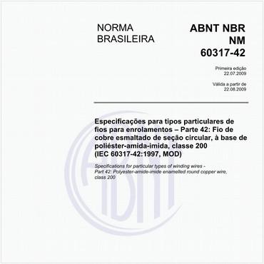 NBRNM60317-42 de 07/2009