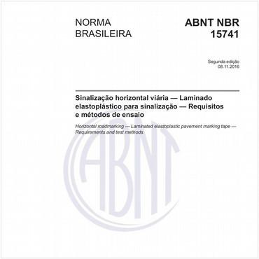 NBR15741 de 11/2016