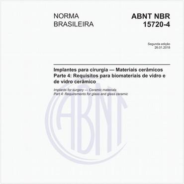 NBR15720-4 de 01/2018