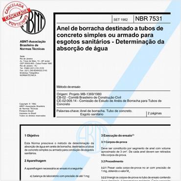 NBR7531 de 09/1982
