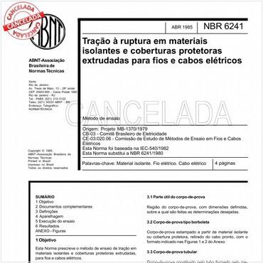 NBR6241 de 04/1985