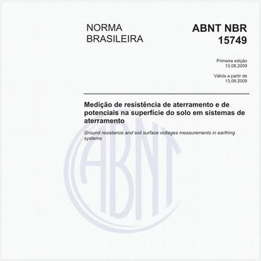 NBR15749 de 08/2009