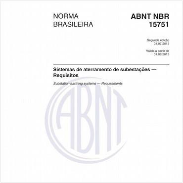 NBR15751 de 07/2013