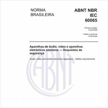 NBRIEC60065 de 08/2009