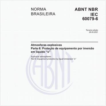 NBRIEC60079-6 de 05/2017