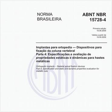 NBR15728-4 de 08/2009
