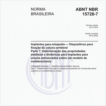 NBR15728-7 de 01/2019