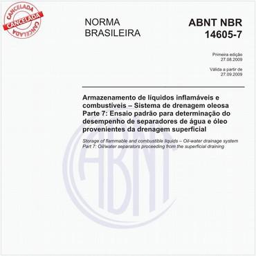 NBR14605-7 de 08/2009