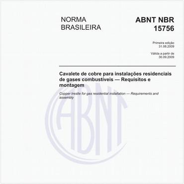NBR15756 de 08/2009