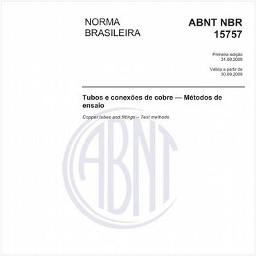 NBR15757 de 08/2009