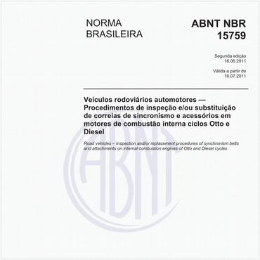 NBR15759 de 06/2011