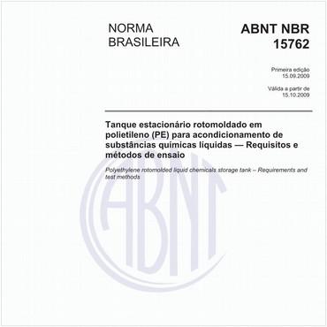 NBR15762 de 09/2009