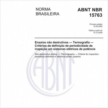NBR15763 de 09/2009