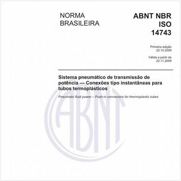 NBRISO14743 de 10/2009