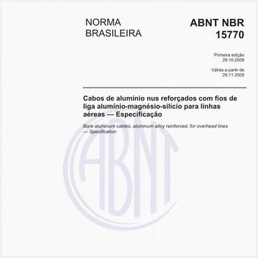 NBR15770 de 10/2009