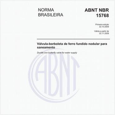 NBR15768 de 10/2009