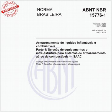NBR15776-1 de 11/2009
