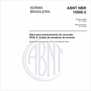 NBR15900-2 de 11/2009