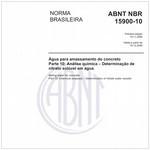 NBR15900-10
