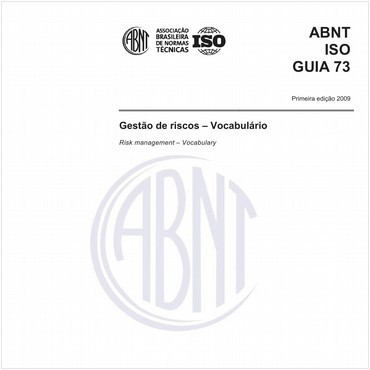 ABNT ISO GUIA73 de 11/2009