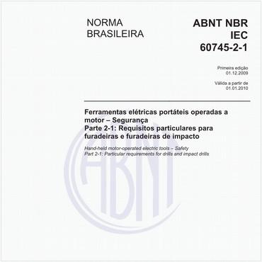 NBRIEC60745-2-1 de 12/2009