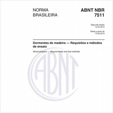 NBR7511 de 04/2013