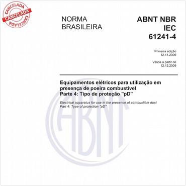 NBRIEC61241-4 de 11/2009