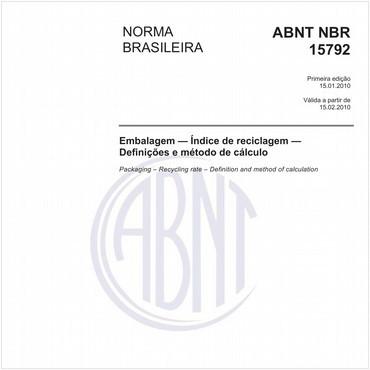 NBR15792 de 01/2010