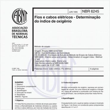 NBR6245 de 06/1995