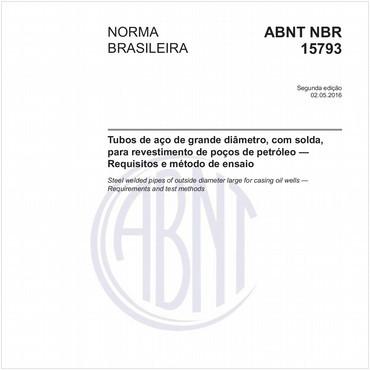 NBR15793 de 05/2016
