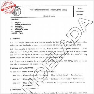 NBR6246 de 06/1986