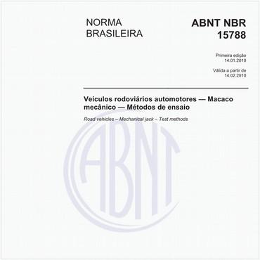 NBR15788 de 01/2010