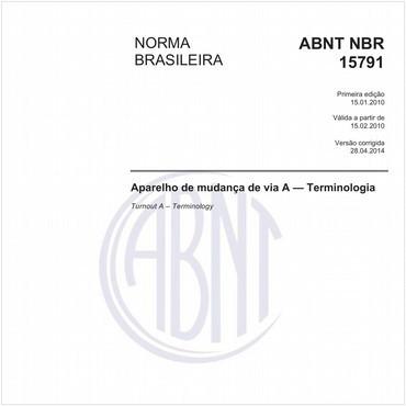 NBR15791 de 01/2010