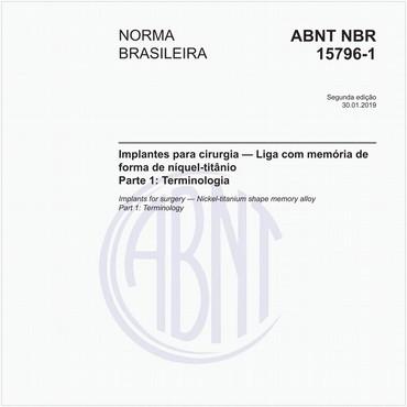 NBR15796-1 de 01/2019