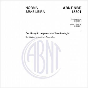 NBR15801 de 02/2010