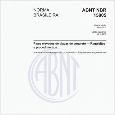 NBR15805 de 09/2015