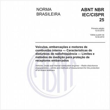 NBRIEC/CISPR25 de 03/2010