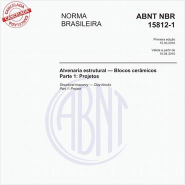 NBR15812-1 de 03/2010