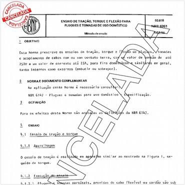 NBR6261 de 12/1980