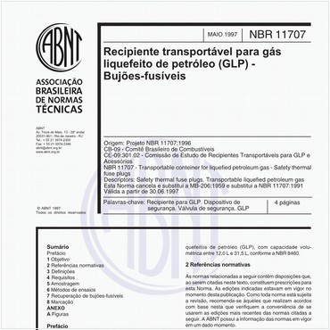 NBR11707 de 05/1997
