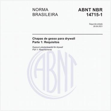 NBR14715-1 de 04/2010