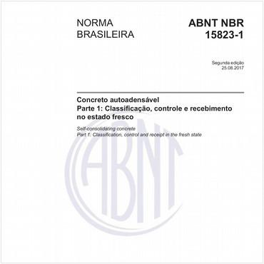 NBR15823-1 de 08/2017