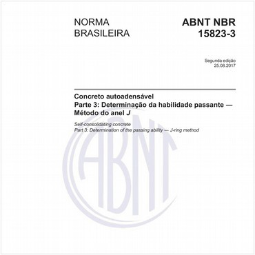 NBR15823-3 de 08/2017