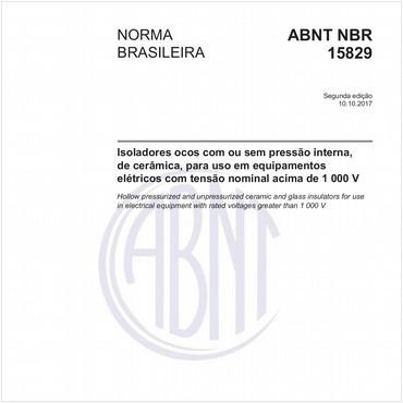 NBR15829 de 10/2017