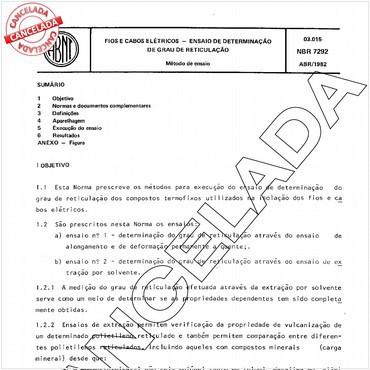 NBR7292 de 04/1982
